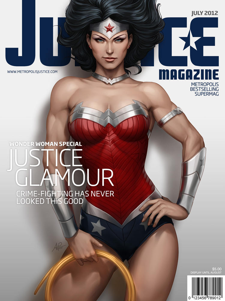 Justice Mag - Wonder Woman by Artgerm