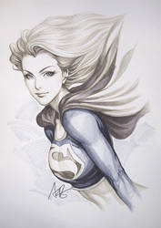 Super Girl Original1 by Artgerm