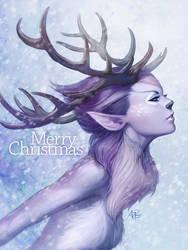 Deer Princess by Artgerm