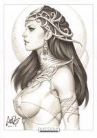 Dejah Thoris Original 1 by Artgerm