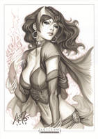 Scarlet Witch Original 1 by Artgerm