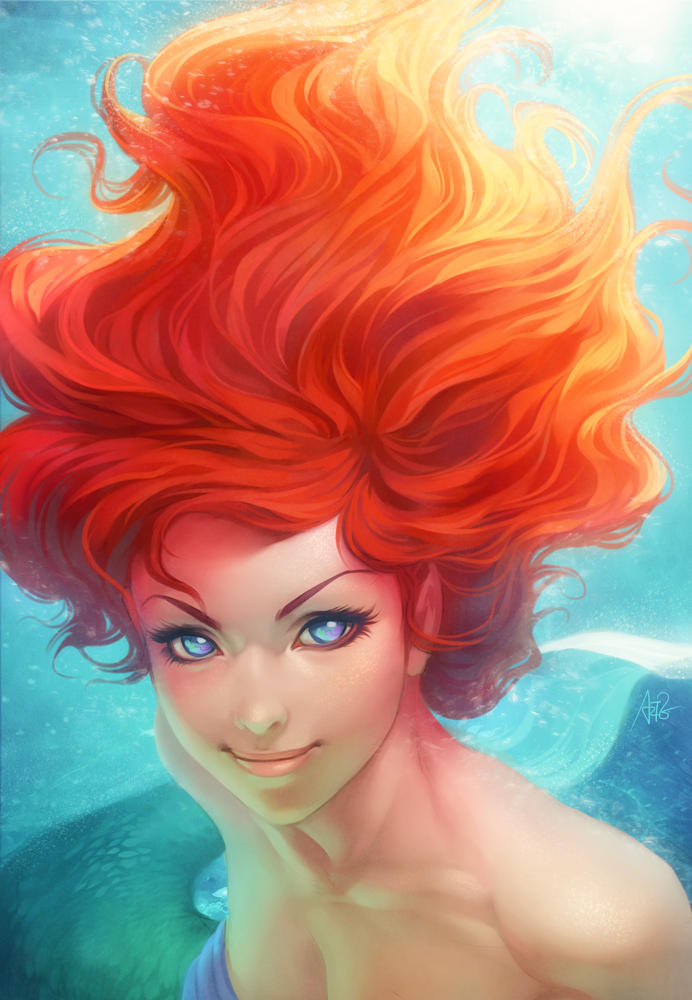 Under The Sea by Artgerm