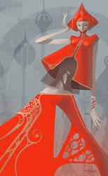 Pepper Fashion by Artgerm
