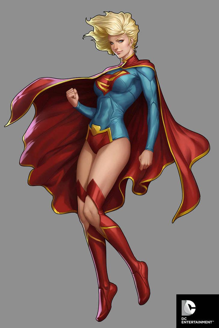 DC Comics Cover Girls - Super Girl by Artgerm