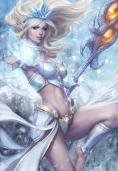 Janna Poster Art by Artgerm