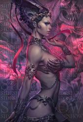 Queen of the Dead Art by Artgerm