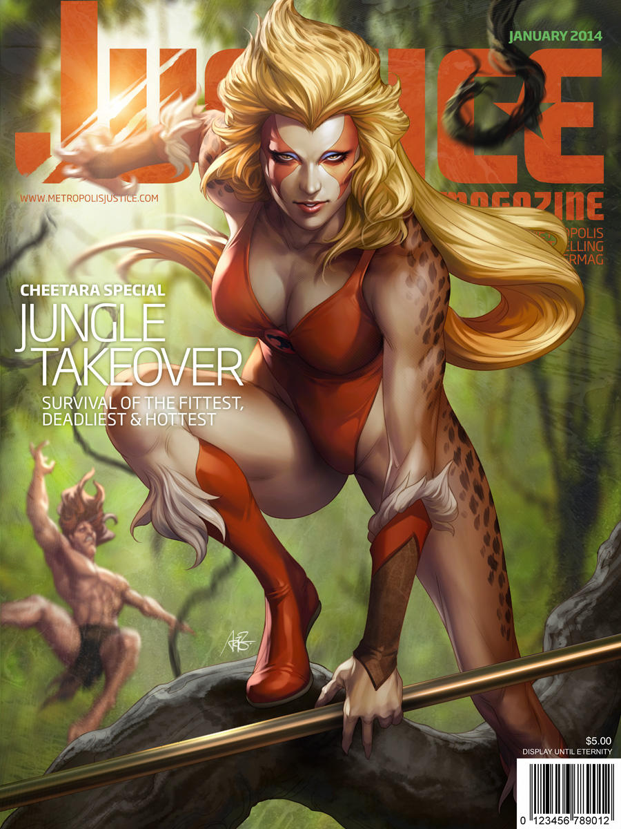 Justice Magazine - Cheetara by Artgerm
