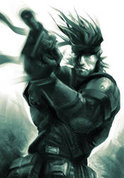 Snake Shot by Artgerm