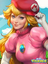 Peachy Princess Ver.2 by Artgerm
