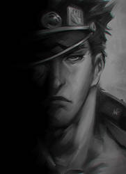 Jotaro Sketch by Artgerm