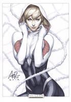 New Spidewoman Original by Artgerm