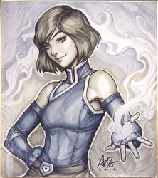 Korra Season 4 Original by Artgerm