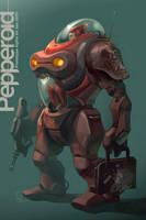 Pepperoid Alpha by Artgerm