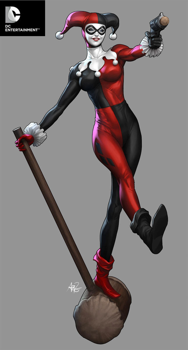 DC Cover Girls - Harley Quinn by Artgerm