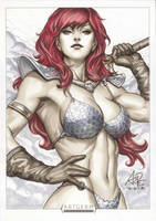 Red Sonja commission by Artgerm