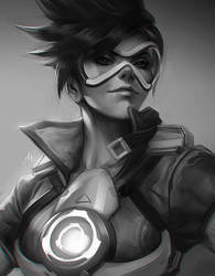 Quick Tracer.  by Artgerm