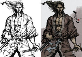 Samurai Spirit Three by Artgerm