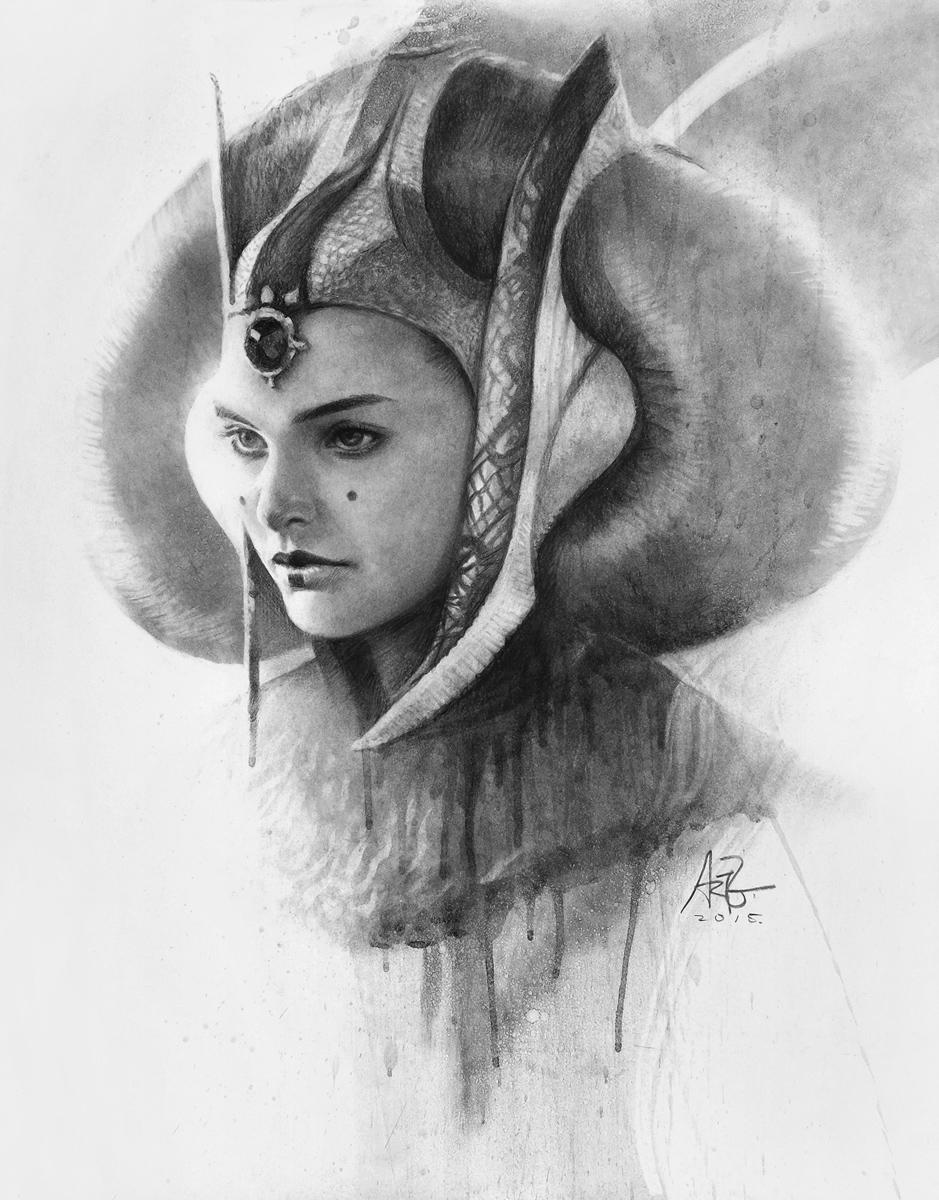 Queen Amidala by Artgerm