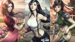 FF7 wallpaper by Artgerm