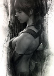 Quiet Moment by Artgerm