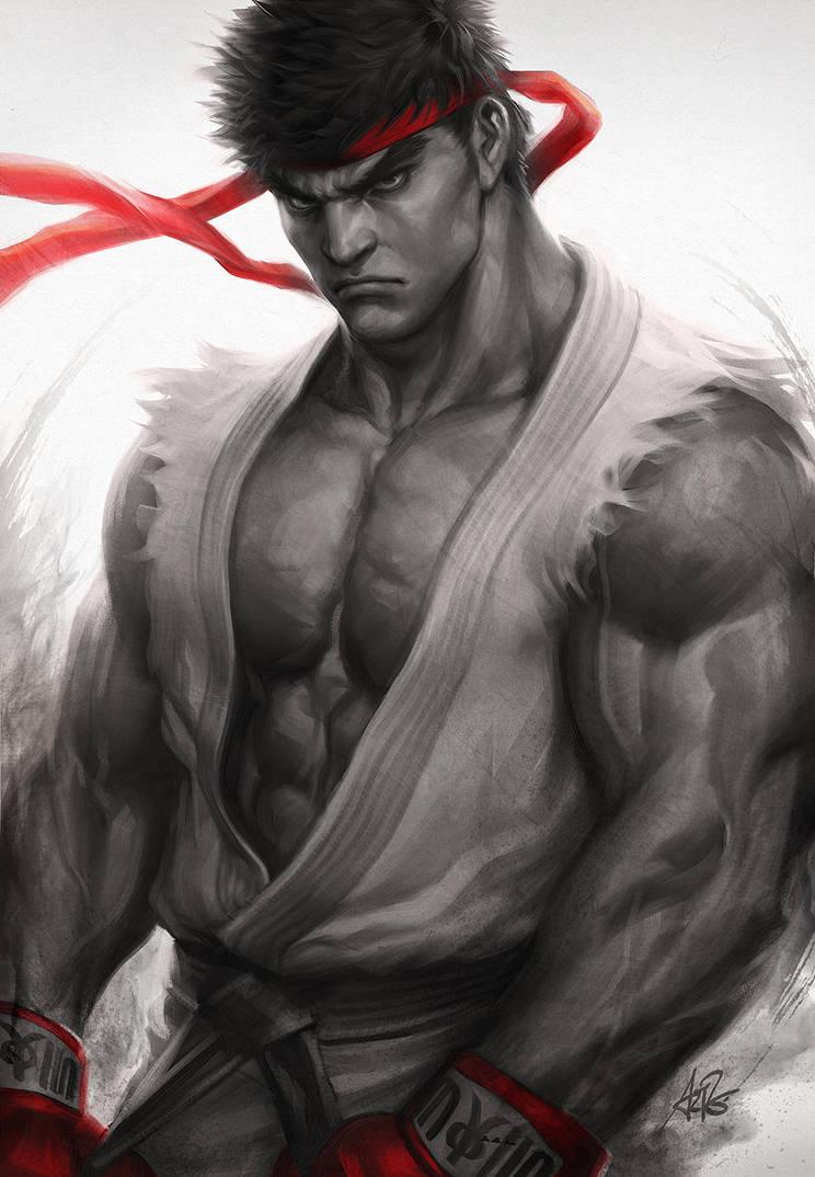 Ryu Fury by Artgerm