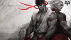 Brotherhood of Fury Wallpaper by Artgerm