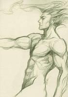 Rakugaki - Male2 by Artgerm