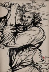 Samurai Spirit 4 by Artgerm
