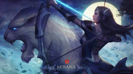 Mirana Sacred Arrow by Artgerm