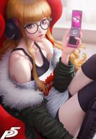 Futaba Sakura Persona 5 by Artgerm