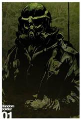 Random Soldier 01 by Artgerm