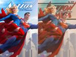 Action Comics 1000 by Artgerm