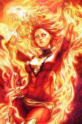Phoenix Resurrection by Artgerm