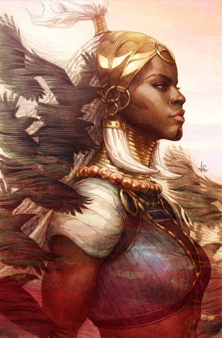Daughter of Wakanda by Artgerm
