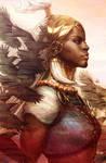 Daughter of Wakanda by Artgerm