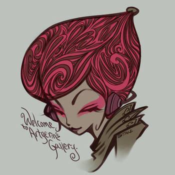 Pepper Pink Eyeshadow by Artgerm