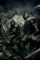Warhammer -  Forge Of War 5A by Artgerm