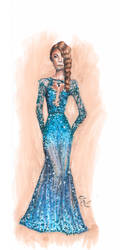 Lady of the night by Inferiac