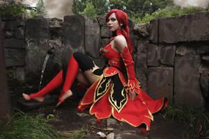 Dota 2 - Lina [Bewitching Flare] cosplay by Fabryei-fabryei