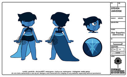 [P] Star Sapphiresona by watergems
