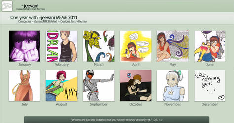 2011 - A Year Of Art With Me by jeevani