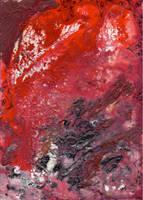abstract rain: unbalanced surface by kyri-IS-dark
