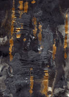 abstract rain: the grey sky poured down by kyri-IS-dark