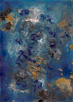 abstract rain: drowned in the blue sky by kyri-IS-dark