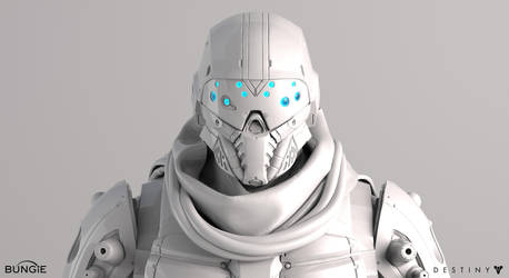 Destiny Argus Front Face White by MikeJensen