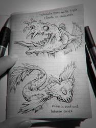 Sketchbook Creatures II by LeviaDraconia