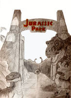 Welcome to Jurassic Park by antisora13