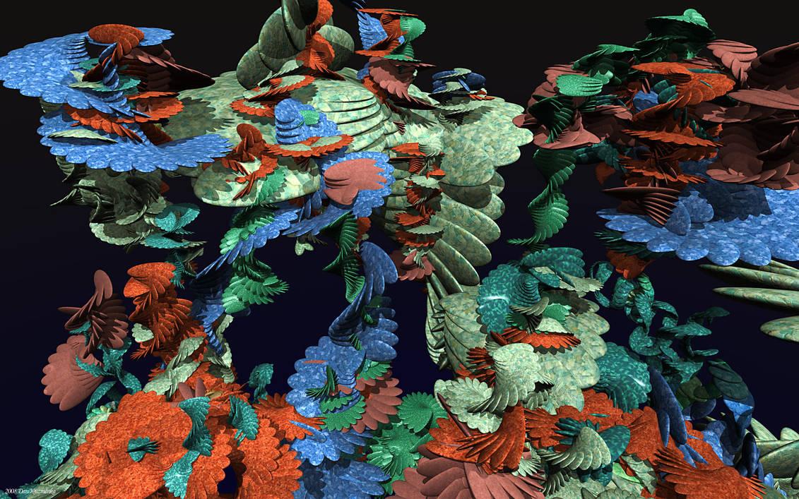 Aquarium Wallpaper by kuzy62