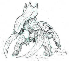 Starcraft - Zerg Ultralisk by atryl