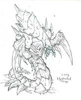 Starcraft - Zerg Hydralisk II by atryl